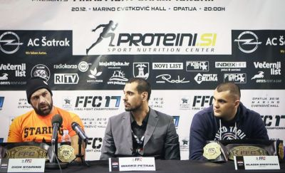 FFC 17: Staring left with no words after Ricco left the ring, Brestovac ready for new challenges!