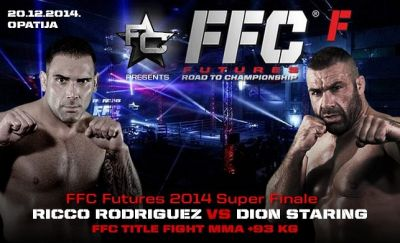 Rodriguez and Staring to fight for the FFC title in Opatija, Croatia!