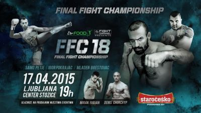 "FFC 18 Ljubljana: Petje defends title, Igor ""The Duke"" Pokrajac to debut in the FFC!"