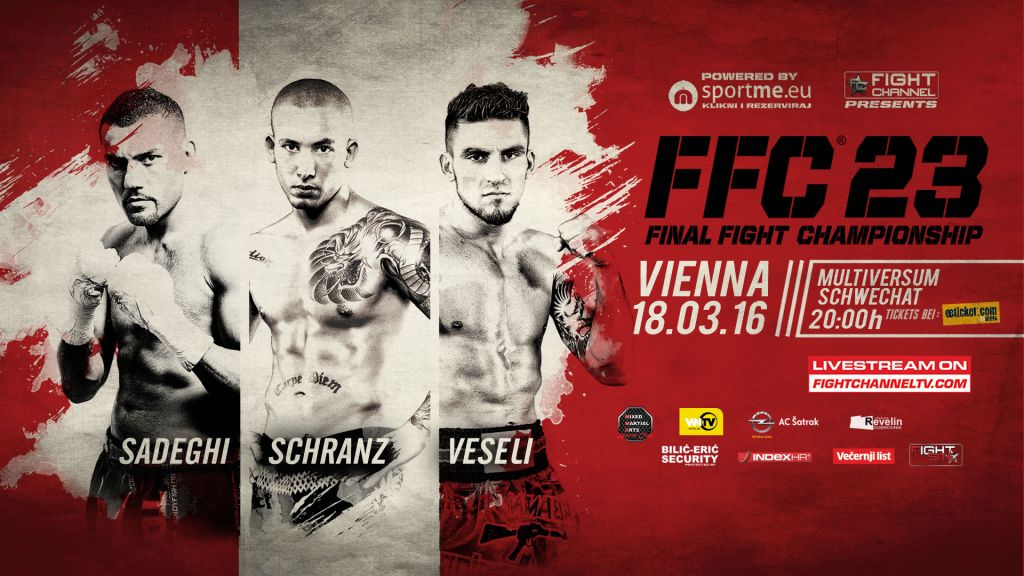 FFC 23 Vienna: Top MMA and kickboxing matches with two title bouts!