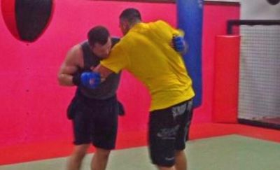 Legends finally meet each other: Cro Cop and Ricco Rodriguez train together! (PHOTO)