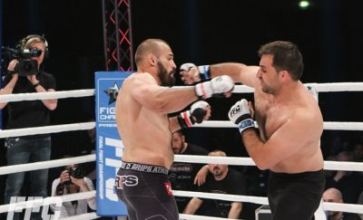 Igor Pokrajac: I threw a jab and hit him in the chin, but he didn't event blink!