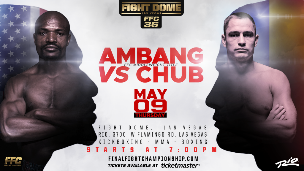 FFC 36: Mykyta Chub to Defend Kickboxing Title Against Francois Ambang
