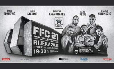 Only one week to FFC 21: Cimeša and Emkic get new opponenets!