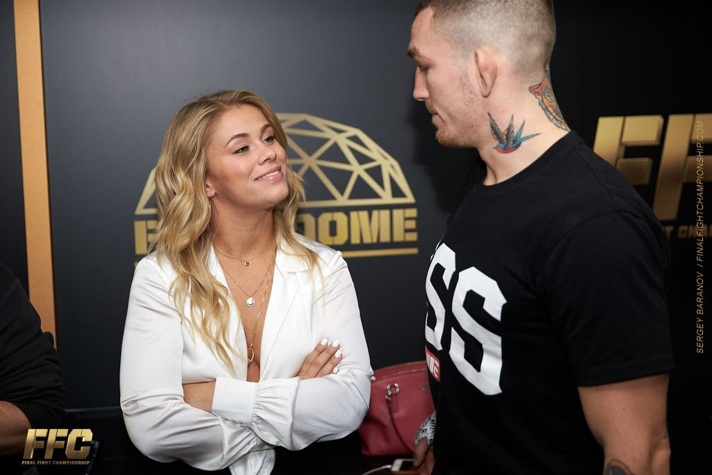 Paige VanZant Supports Husband at FFC 32