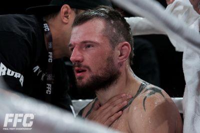 Lemmy Krušić out of FFC 30 bout against Stipe Brčić, Magamed Batirov in