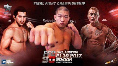 FFC 30 MMA full fight card: Satoshi Ishii headlines FFC 30, Pejić defends title in co-main event