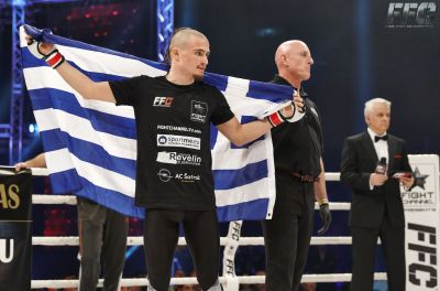 New rising star Alexandros Papadimitrou and Giannis Michalopoulos in all-Greek match at FFC 28!
