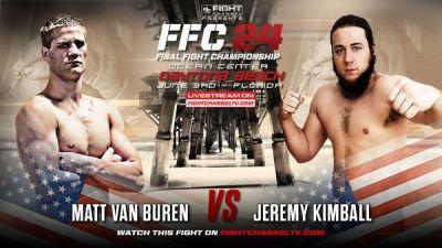 TUF Finalist Matt Van Buren latest addition to the FFC roster