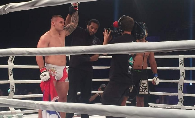 FFC 25: Stošić and Zhuravlev score new KO wins, Mafra and Marjanović go to decisions