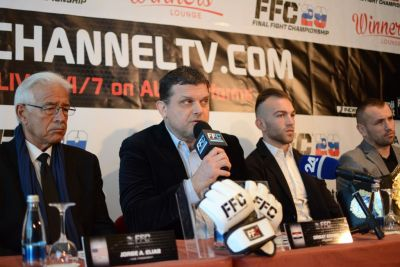 FFC 29 pre-fight press conference: Zovko introduces new FFC Vice President and announces first boxing match in the FFC!