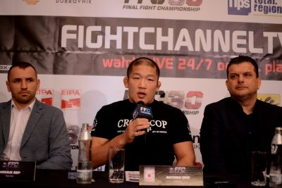FFC 30 pre-fight press conference – Satoshi Ishii on the quest for the belt, Rene Wimmer claims: 'Every place is great, but Linz is the greatest!'
