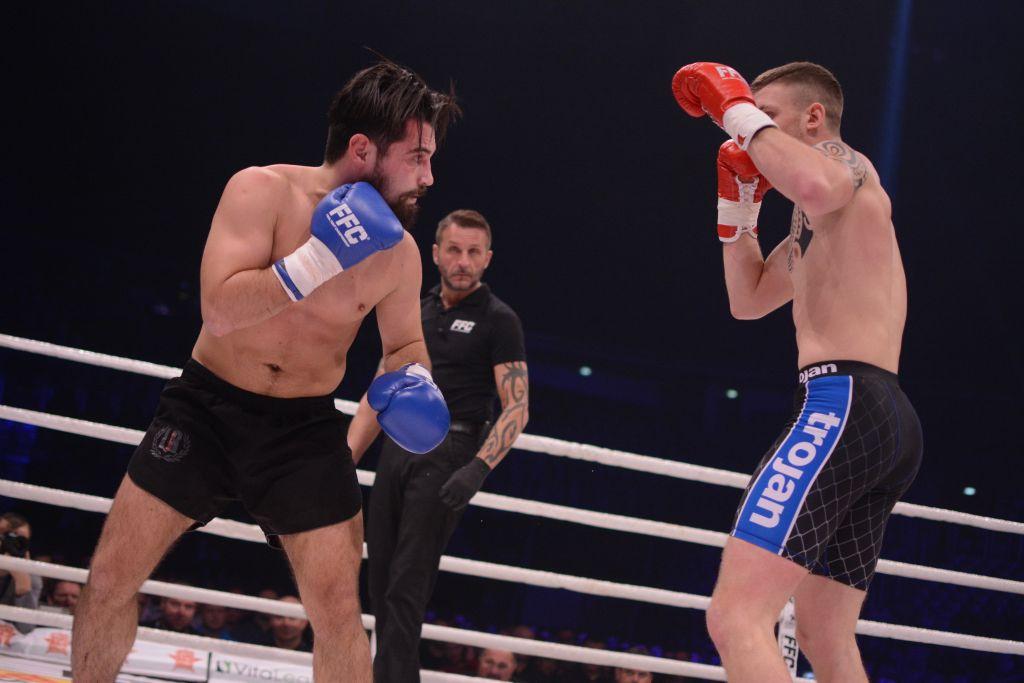 Giorgi Bazanov against Greece's KO artist Meletis Kakoubavas at FFC 30
