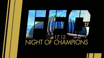 FFC 27 – Night of Champions: Kickboxing fight card!