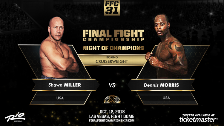 """Dennis Morris: """"My Goal Is To Win All My Fights."""""""