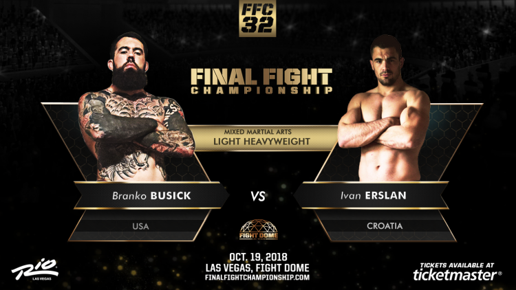 Busick and Erslan Will Grind it Out at FFC 32