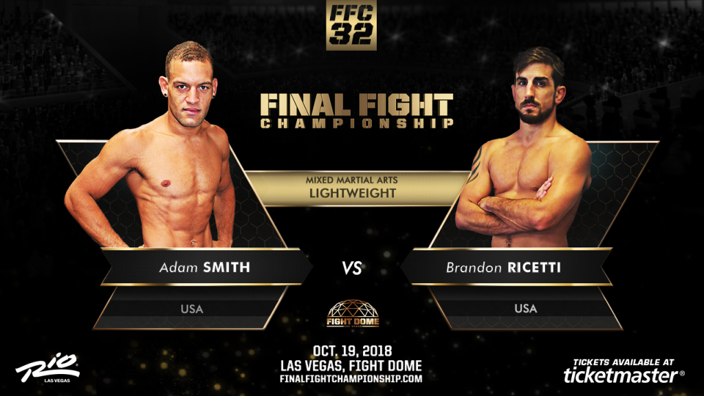 """Grapplers Paradise"" Smith vs. Ricetti at FFC 32"