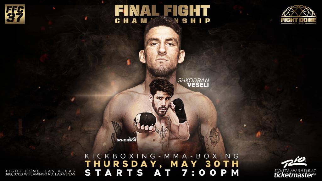 FFC 37: Shkodran Veseli faces Alan Scheinson for Welterweight Title!