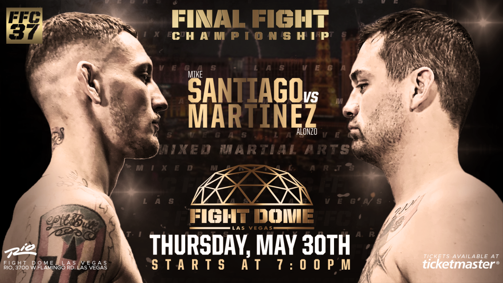 FFC 37: Mike Santiago Victorious on Night of Finishes at the Fight Dome!