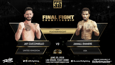FFC 38: Cucciniello and Emmers Set For Featherweight Showdown on June 20th!