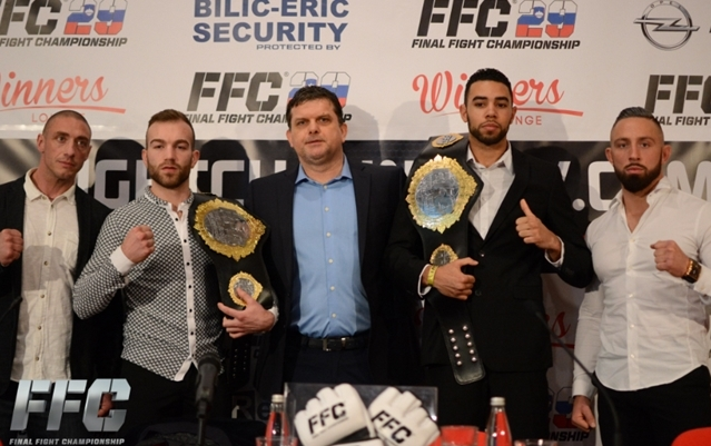 FFC 29 pre-fight press conference: Petje and Danenberg promise to knock each other out