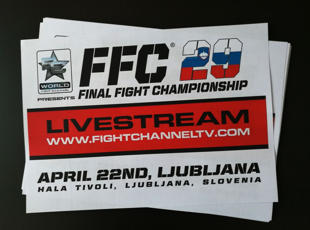 Watch FFC 29 live tonight at 8 PM!