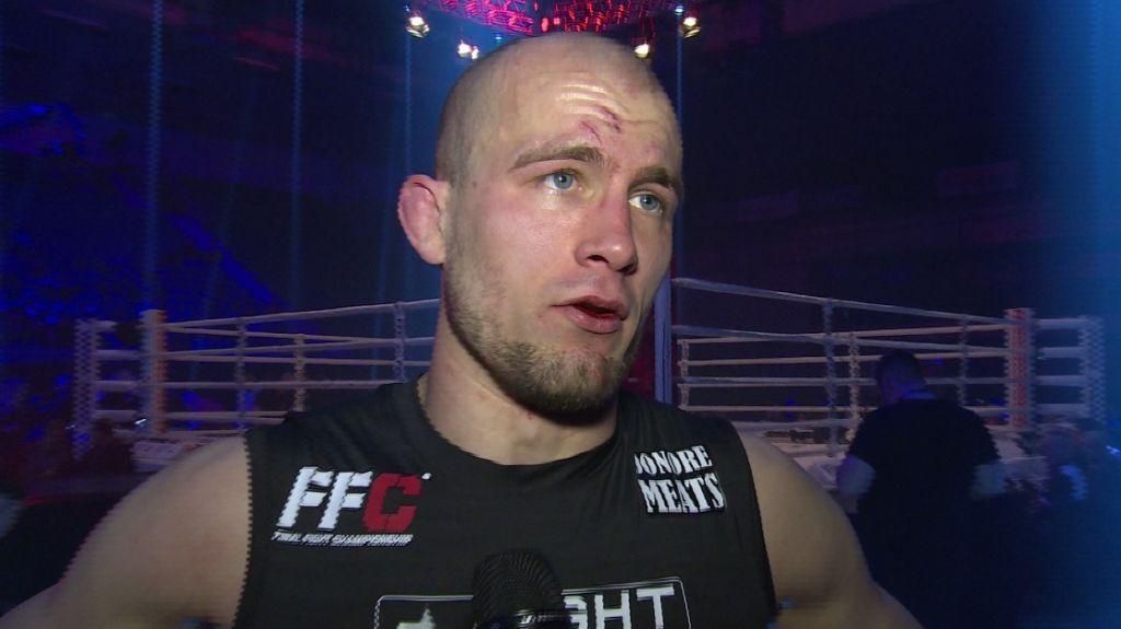 FFC 29: Luka Jelčić post-fight interview