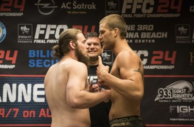 FFC 24 Daytona Beach weigh-in results: Tensions between Kimball and Van Buren