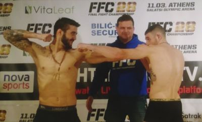 FFC 28 Athens: Tense Atmosphere at the Weigh-In and Face Off