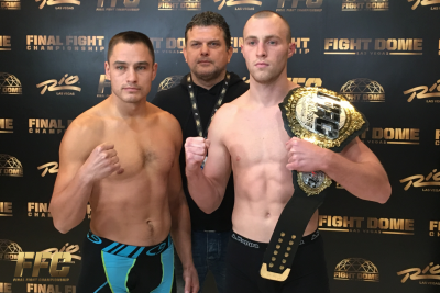 "Official Weights For ""FFC 33"" Multi-Discipline Event at Fight Dome Las Vegas"