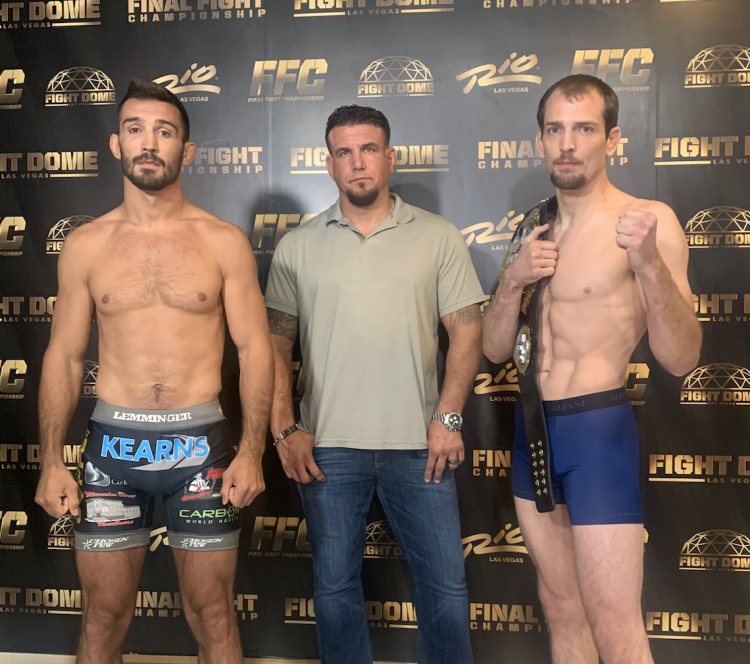 FFC 40: TITLE FIGHTS OFFICIAL AS FIGHTERS HIT THE SCALES