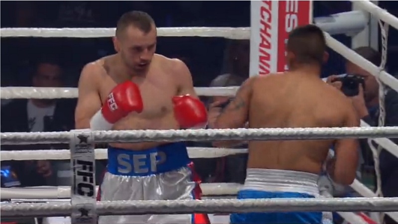 Sep makes his boxing pro debut with a 1st round KO win ...