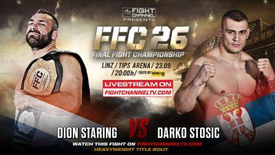 FFC 26: Pejić vs. Vila, Stošić in a title bout against Staring, Samo Petje's big comeback!