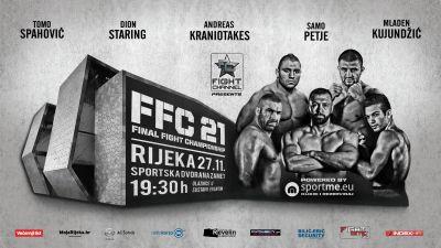 FFC 21 Rijeka: Three title bouts, best fight card so far!