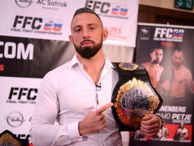 "Uroš Jurišič: ""Roberto, the belt will be mine!"""