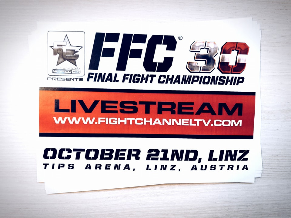 Watch FFC 30 live on fightchanneltv.com and Fight Channel World HD!