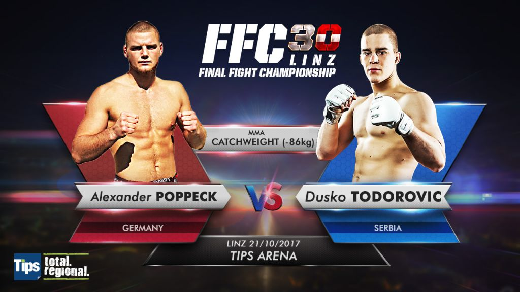 Duško Todorović ahead of his FFC debut: 'In MMA you have to adapt and be flexible with your game plan'