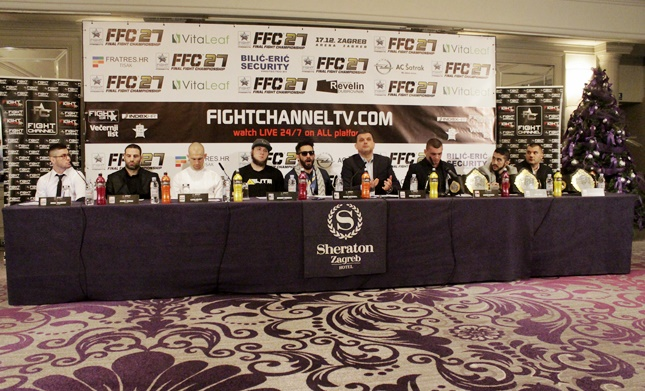 FFC pre-fight press conference: FFC President announces a surprise, fighters promise KO's