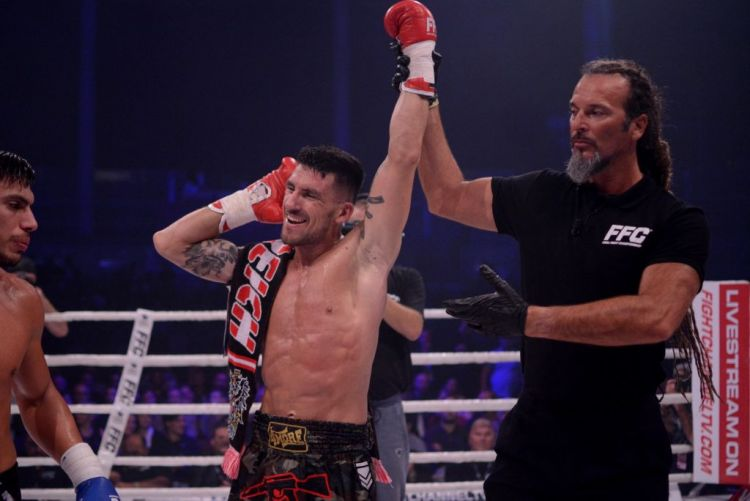 FFC kickboxing champion Shkodran Veseli eager to defend his title in 2020
