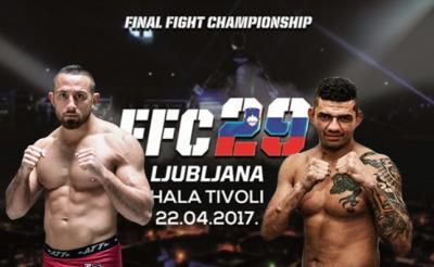 Uroš Jurišič gets opponent for FFC 29!