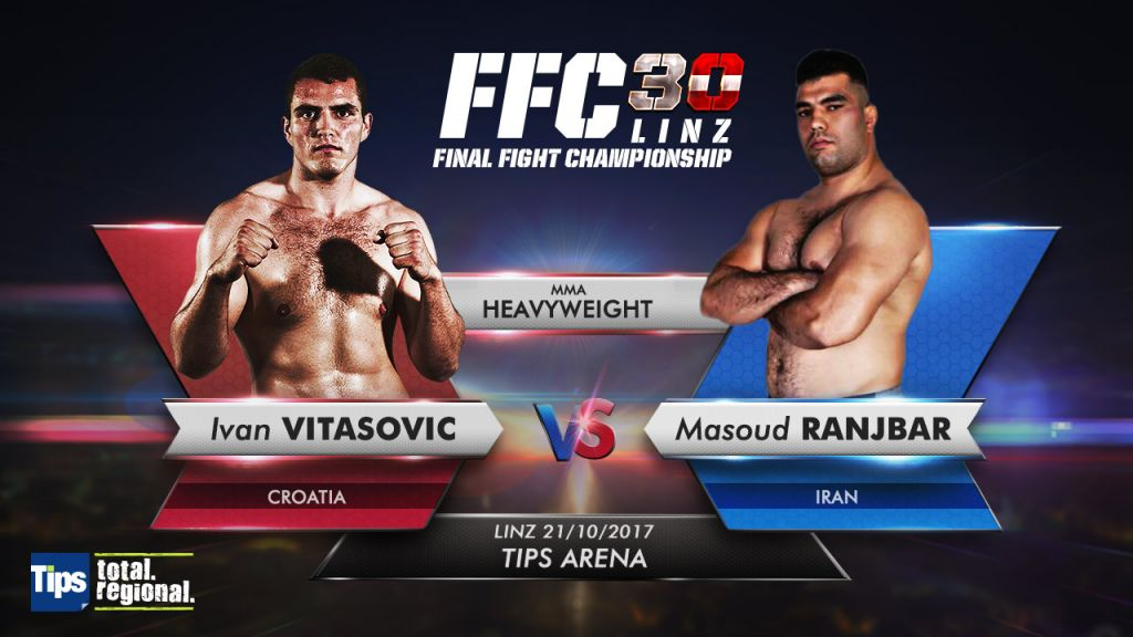 FFC adds heavyweight match for October 21 fight card