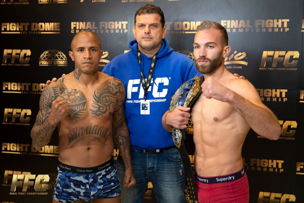 FFC 34 Official Weigh In Results At Fight Dome Las Vegas
