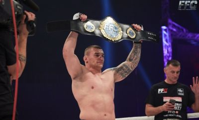 Stošić after his win at FFC 28 Athens: UFC is my ultimate goal, but I have to gather more experience