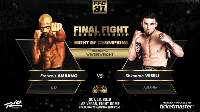 """The Albanian Warrior"" is ready for battle in Las Vegas"