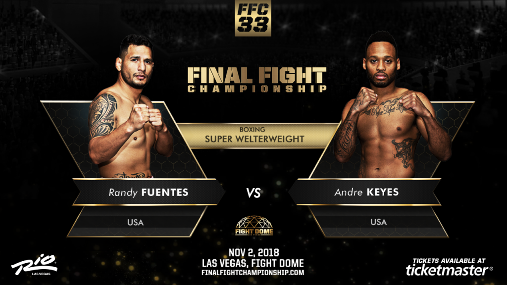 Explosive Boxing Match Set for FFC 33 Nov. 2 at Fight Dome
