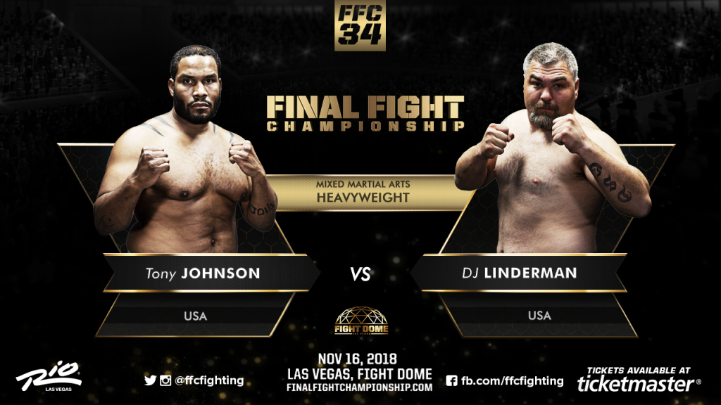 MMA Heavyweights Prepare To Wreak Havoc At Fight Dome Nov. 16