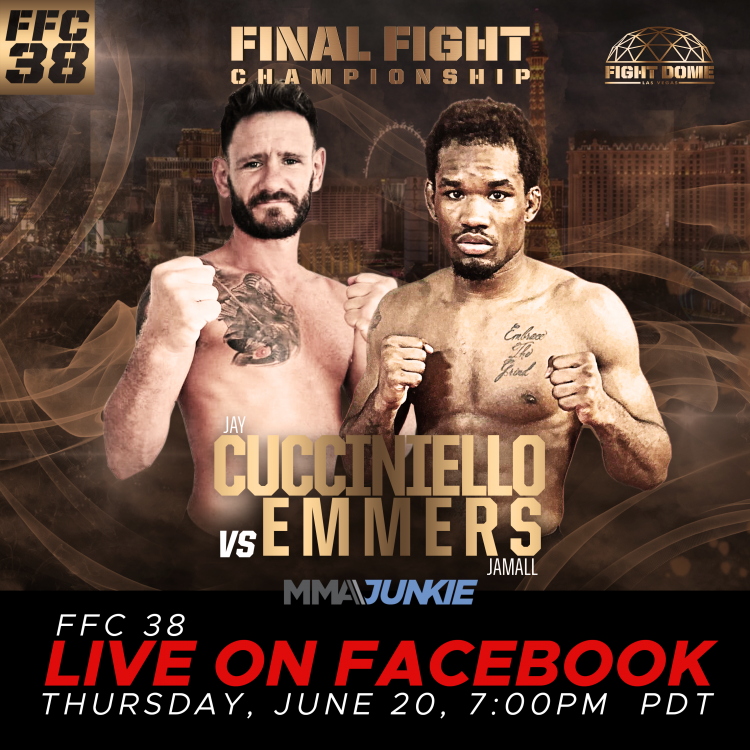 FFC 38 Broadcasting Live on MMA Junkie This Thursday!