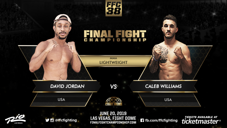 FFC 38: Vegas' own David Jordan faces Caleb Williams!