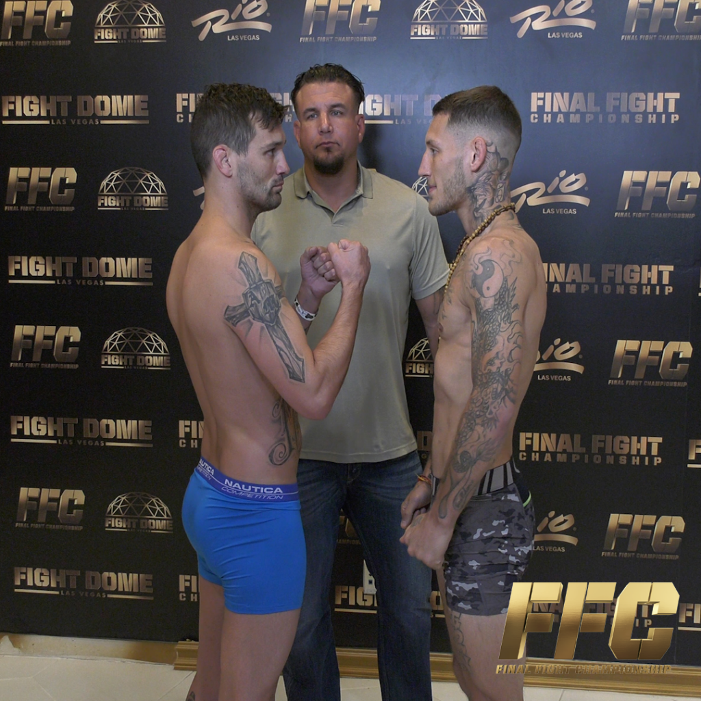 FFC 37: Controversy Hits Weigh Ins!