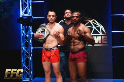 FFC 36: Chub & Ambang Hit Their Mark in Middleweight Title Clash!